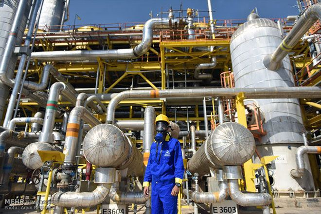 Foundation of new propylene plant laid in Iran