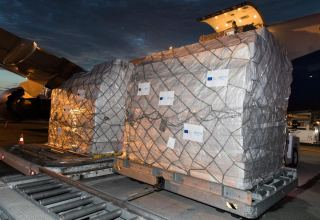 EU, WHO send medical aid to Azerbaijan (PHOTO)