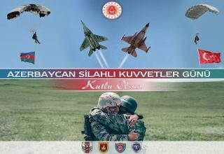 Turkish Ministry of National Defense congratulates Azerbaijan on Armed Forces Day