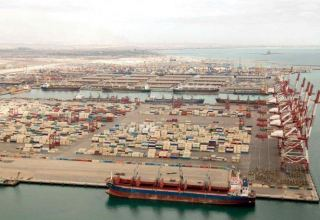 Volume of  loaded, unloaded cargo in Iran's Shahid Bahonar port up