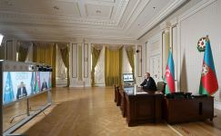 Videoconference held between Azerbaijani president, WTO secretary-general (PHOTO/VIDEO) - Gallery Thumbnail