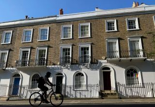 UK house prices fall for first time since 2012