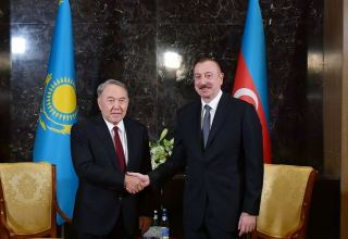 Azerbaijani president makes phone call to first president of Kazakhstan