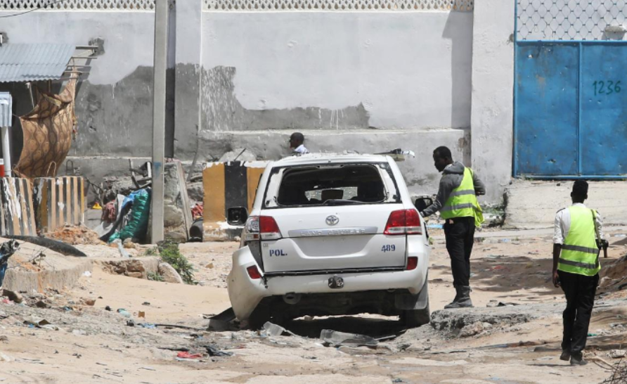 Two policemen killed in roadside blast in Mogadishu