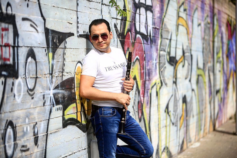 В Израиле очень любят азербайджанскую музыку – виртуоз кларнета Давид Давыдов (ВИДЕО, ФОТО) - Gallery Image