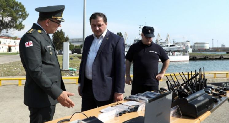 US provides Georgia with modern communication equipment