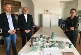 Iranian ancient objects to be retrieved from Austria