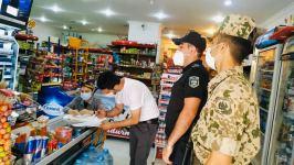 Paytaxtda gücləndirilmiş nəzarət-profilaktik tədbirləri davam etdirilir (FOTO) - Gallery Thumbnail
