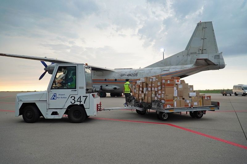 Turkey sends additional humanitarian aid to Uzbekistan