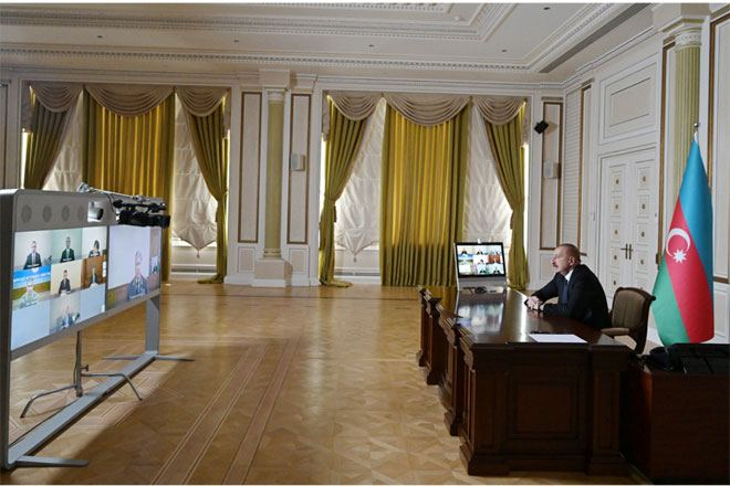 Azerbaijan's President Ilham Aliyev chaired meeting of Security Council (PHOTO/VIDEO)