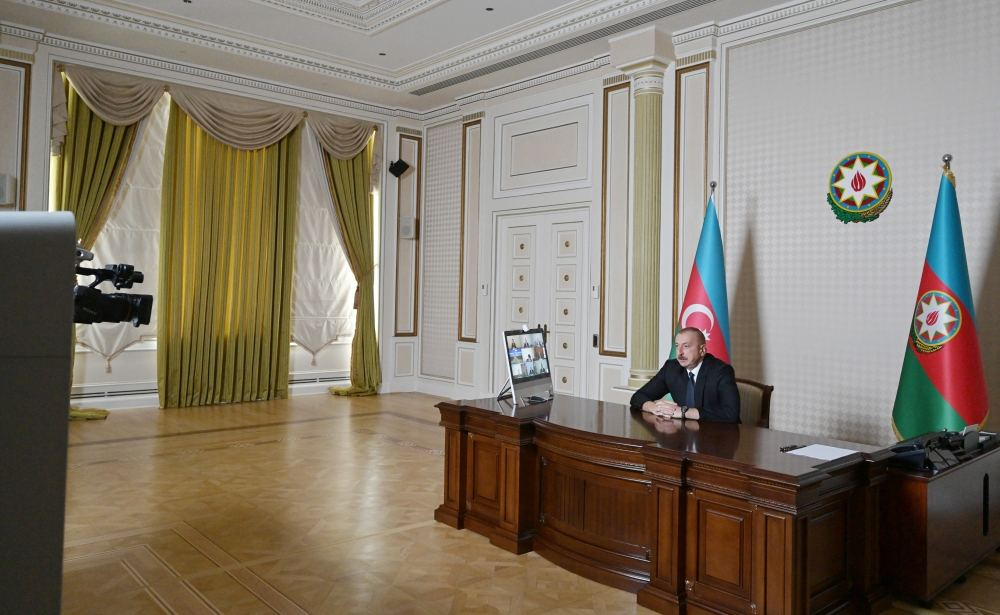 President Ilham Aliyev: If Azerbaijani positions, Azerbaijani villages are fired upon from territory of Armenia, of course, we will respond and give fitting rebuff