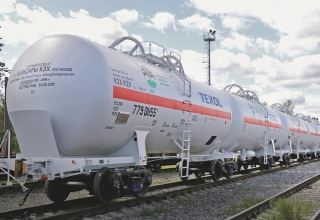 Uzbekistan launches production of tank wagons for liquefied gas transportation