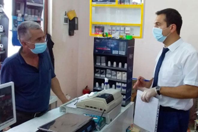 AQTA daha 217 ictimai iaşə və ərzaq satışı müəssisəsində reyd keçirib (FOTO)