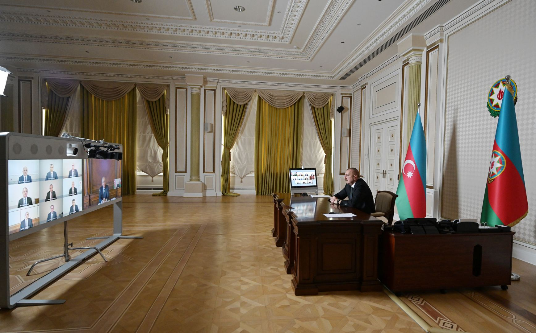 President Ilham Aliyev chaired Cabinet meeting on results of socio-economic development in first quarter of 2020 and future tasks (PHOTO)