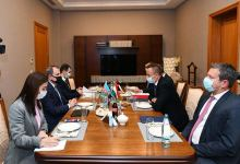 Azerbaijani, Hungarian MFAs holding meeting in expanded format (PHOTO) - Gallery Thumbnail