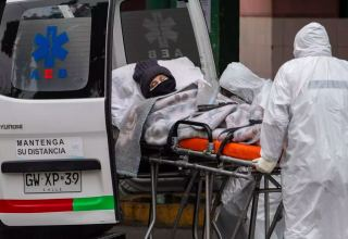 Chile reports over 336,000 cases of COVID-19, with 8,700 deaths