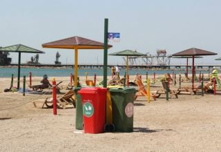 People allowed going to beaches in Azerbaijan