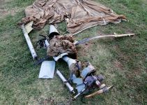Azerbaijani army shoots down another UAV of Armenian armed forces (PHOTO/VIDEO) - Gallery Thumbnail