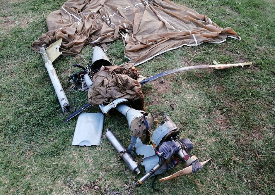 Azerbaijani army shoots down another UAV of Armenian armed forces (PHOTO/VIDEO) - Gallery Image