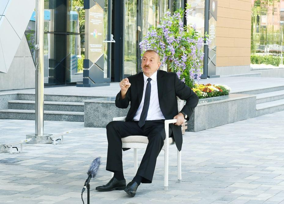 Prezident İlham Əliyev: Son illərdə Balakən rayonunda sosial-iqtisadi sahədə yaxşı inkişaf var