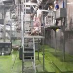 AQTA qurbanlıq heyvanların kəsilmə məntəqələrində baytarlıq nəzarət tədbirlərini davam etdirir (FOTO) - Gallery Thumbnail