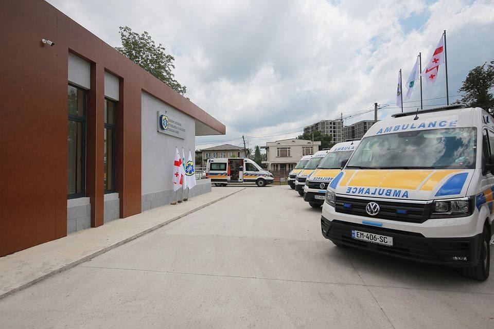 New building and vehicles handed over to Zugdidi Emergency Medical Services