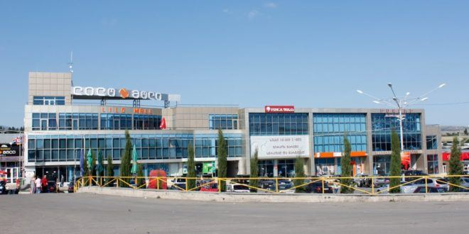 COVID-19 testing completed at Lilo Mall and Dinamo Market in Georgia
