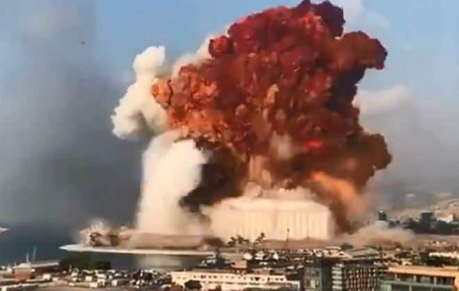 Massive blast rips through Beirut, killing 78 and injuring thousands (VIDEO) (UPDATE)