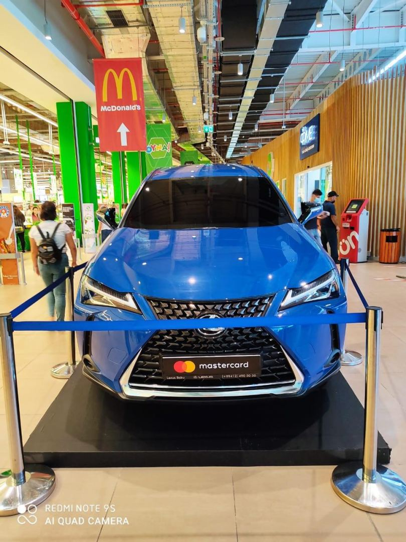 Pay with Mastercard in Bravo and drive out your new Lexus. (PHOTO) - Gallery Image