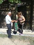 Deputat Sevil Mikayılovanın təşəbbüsü ilə Xudat sakinlərinə Qurban  sovqatları paylanılıb (FOTO) - Gallery Thumbnail