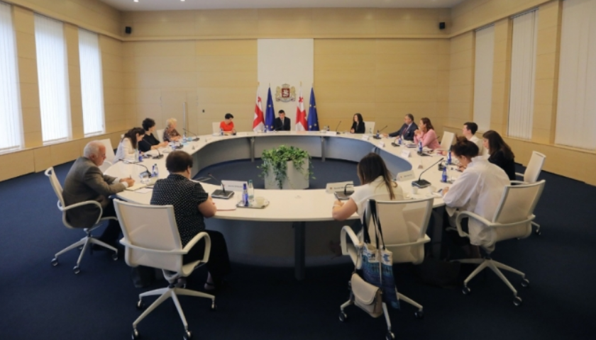 Georgia holds working meeting on study of COVID-19 management and impact