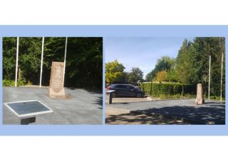 Monument in Hague to victims of genocide against civilians in Azerbaijan's Khojaly moved to spacious area
