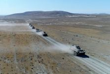 Azerbaijani-Turkish joint military forces hold next stage of tactical exercises (PHOTO/VIDEO) - Gallery Thumbnail