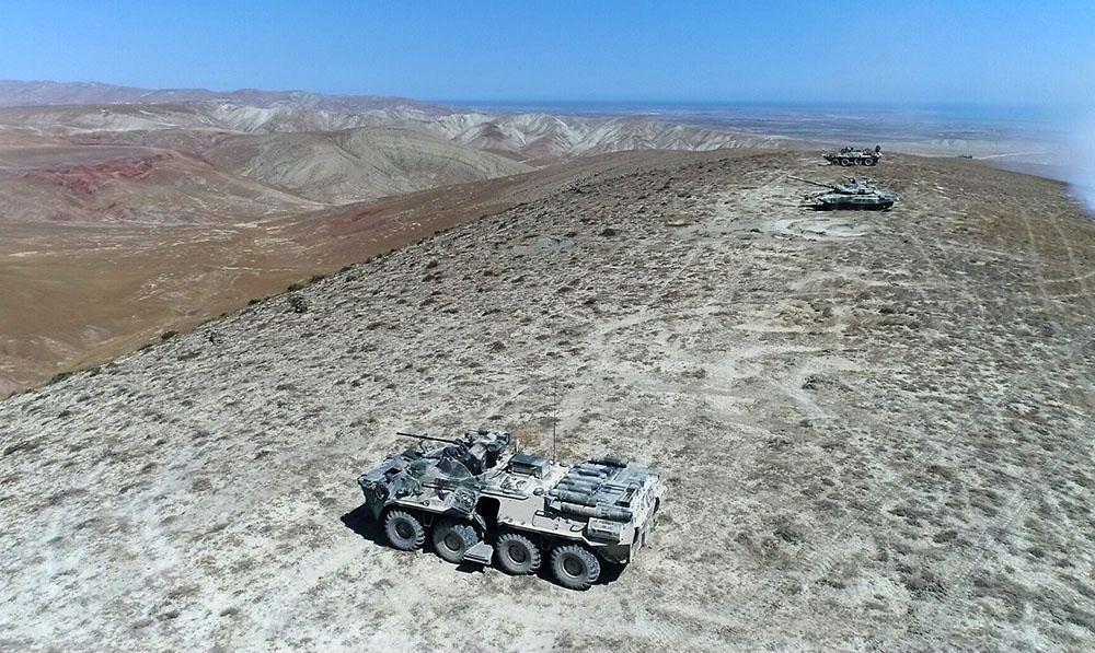 Azerbaijani-Turkish joint military forces hold next stage of tactical exercises (PHOTO/VIDEO) - Gallery Image