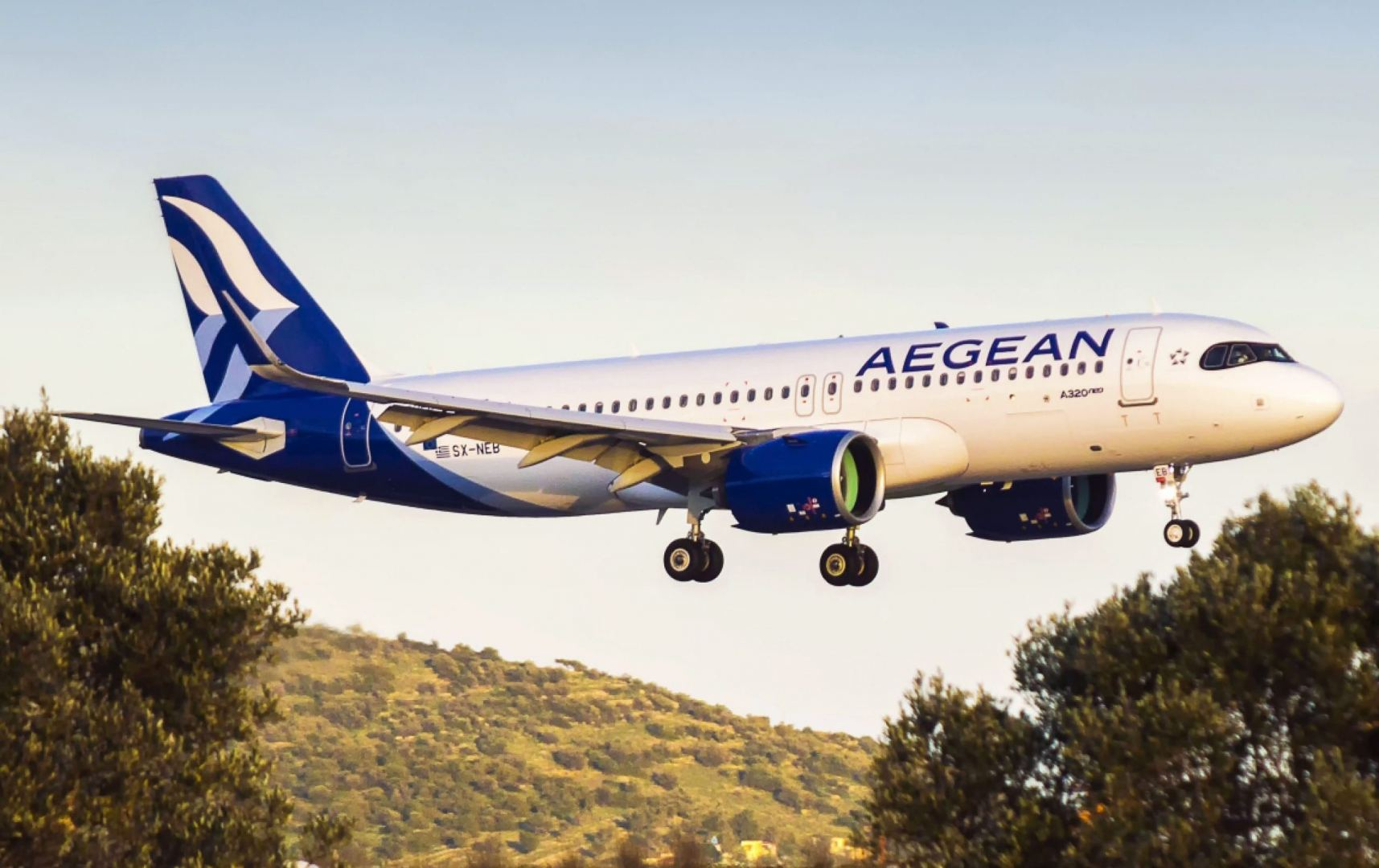 Aegean Airlines to carry out flights on Tbilisi-Athens route