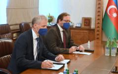 Azerbaijani FM holds meeting with EU representative (PHOTO) - Gallery Thumbnail