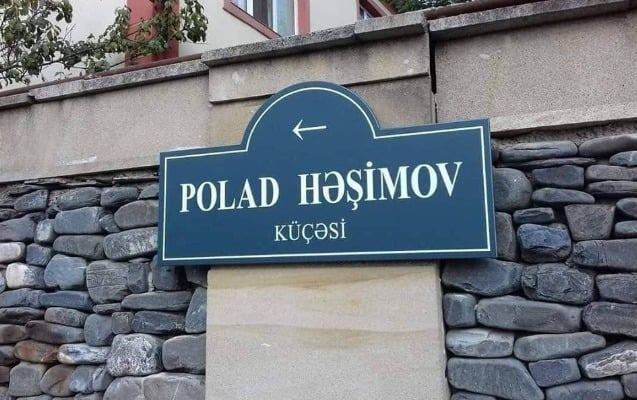 General Polad Həşimovun adı Həzi Aslanovun adına olan küçəyə verilməyib - İcra Hakimiyyəti (FOTO)
