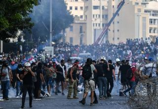 Over 40 injured in street clashes in Beirut - Red Cross