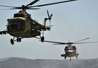 """TurAz Qartalı - 2020"" exercises continue with participation of helicopters (PHOTO/VIDEO)"