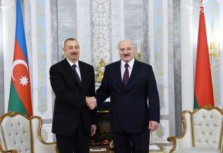 Azerbaijani president congratulates president of Belarus