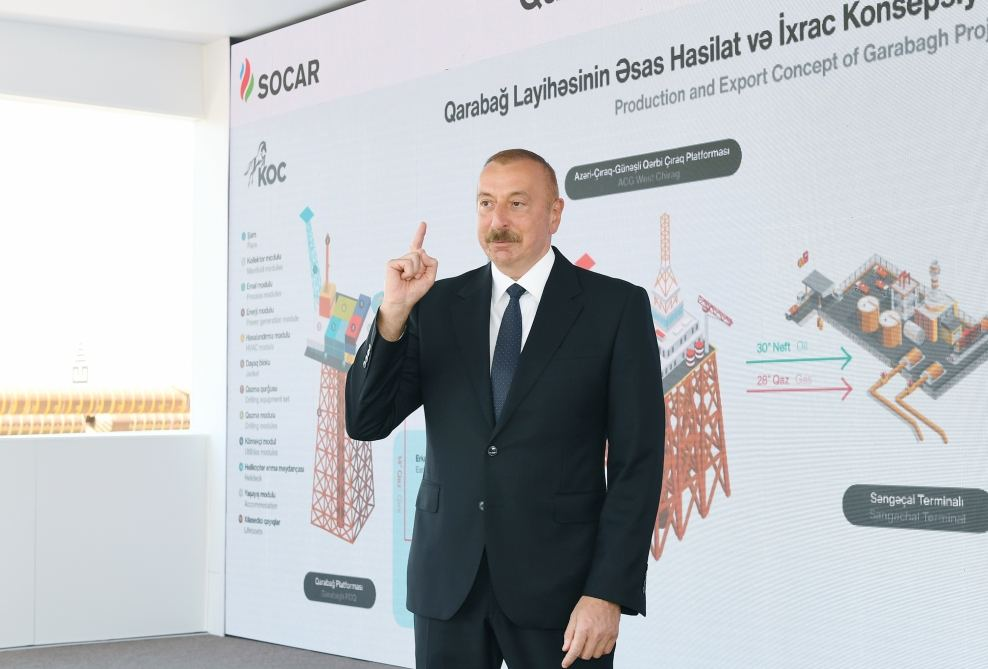 Azerbaijani president: Then leadership of Azerbaijan – the PFPA-Musavat tandem – allowed for occupation of our lands