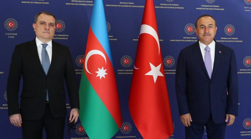 Azerbaijani Foreign Minister holds meeting with Turkish counterpart (PHOTO)