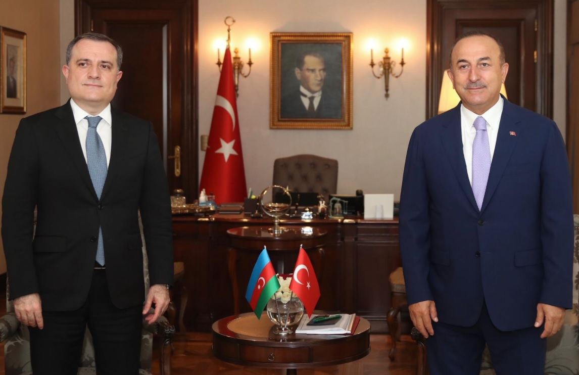 Azerbaijani Foreign Minister holds meeting with Turkish counterpart (PHOTO) - Gallery Image