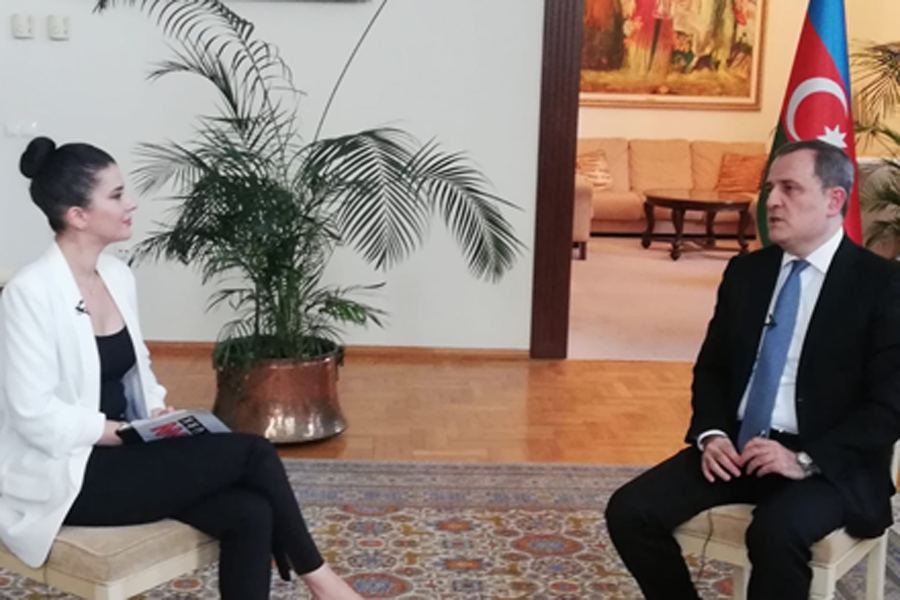 Azerbaijani FM gives interview to Turkish TV channel (UPDATE)