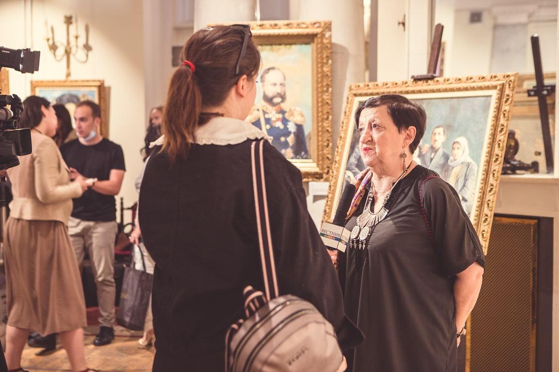 В Москве открылась выставка картин бакинца Рами Меира (ВИДЕО, ФОТО) - Gallery Image