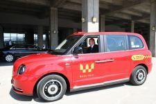 Президент Ильхам Алиев ознакомился с доставленными в Баку новыми «лондонскими такси» модели LEVC ТХ  (ФОТО) - Gallery Thumbnail