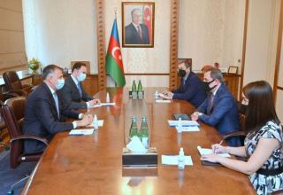 Azerbaijani foreign minister receives Georgian ambassador (PHOTO)