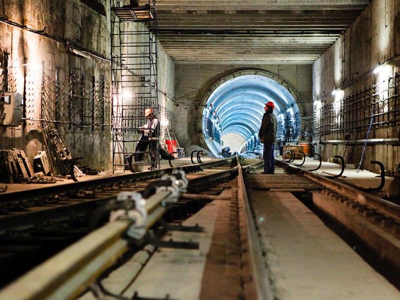 Azerbaijan's Baku Metro talks on construction work at B3 station, in Khojasan depot