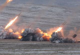 Armenian Armed Forces bombard Azerbaijani units
