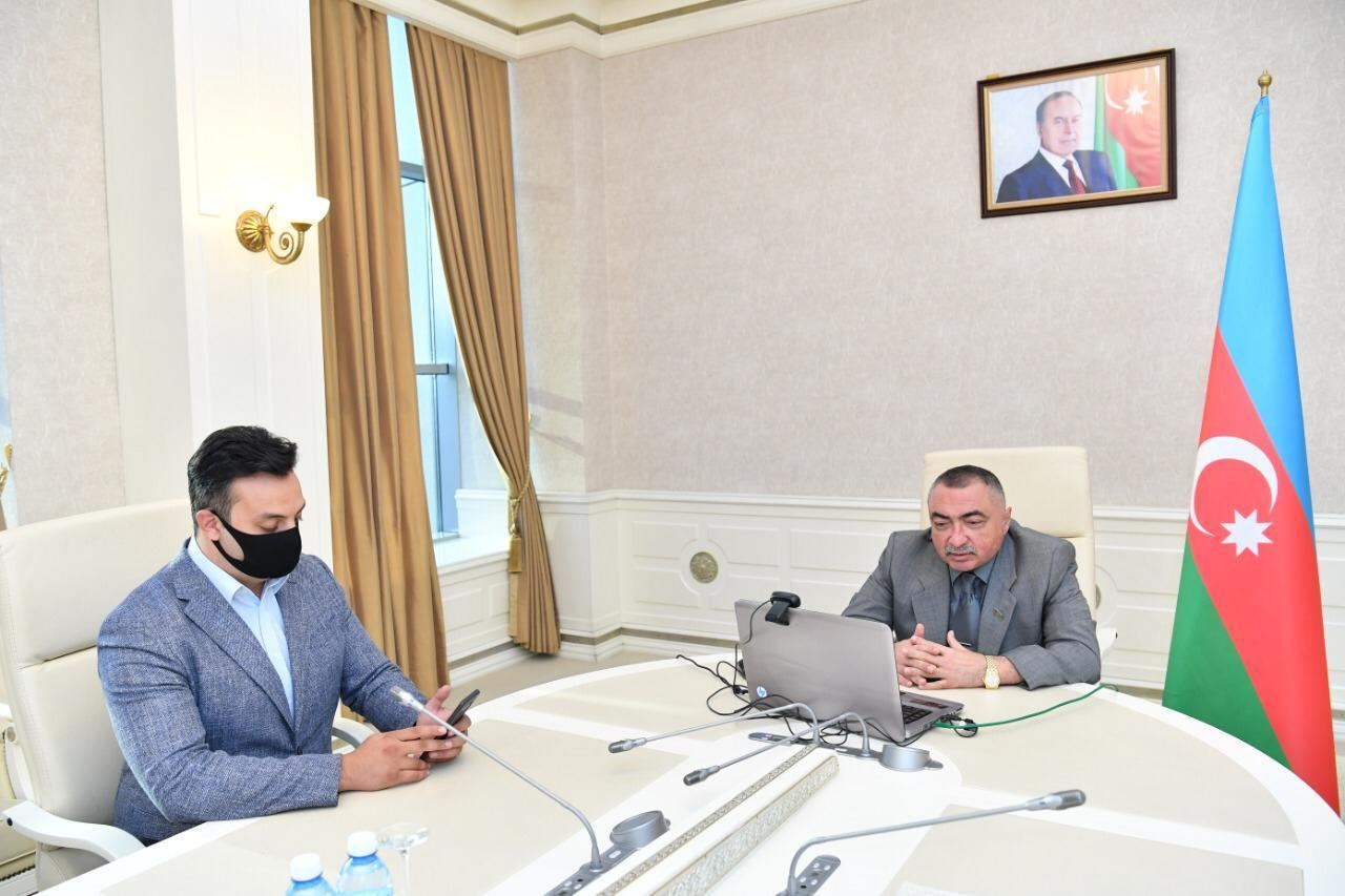 Azerbaijani, Ukrainian MPs discuss prospects to deepen bilateral relations (PHOTO) - Gallery Image